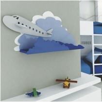 Escultura de Parede Adorno de Parede Fly em MDF Colorido - Roncali