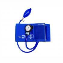 Esfigmomanômetro bic em nylon com velcro - azul royal -