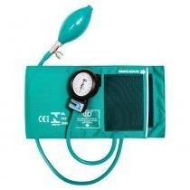 Esfigmomanômetro bic em nylon com velcro - verde -