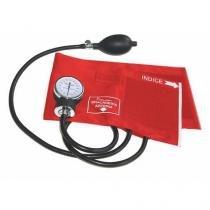 Esfignomanômetro em Nylon Premium Vermelho - G-Tech