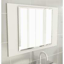 Espelheira 32 Para Banherio 80 cm Branco - Tomdo