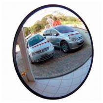 Espelho Convexo de 50cm com Borda de Borracha Ligação - Ligação home center