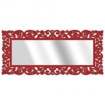 Espelho De Parede 15177V Vermelho 70x158 Art Shop -