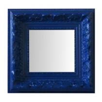 Espelho Moldura Rococó Raso 16234 Azul Art Shop -