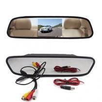 Espelho Retrovisor Monitor Tela Lcd 5 Polegadas - Cinoy