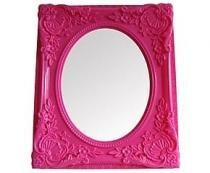 Espelho Urban Rococó Provençal Rosa Urban Brasil -