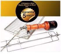 Espeto Giratório Girofest Super 5 Anos Garantia Em Inox 304 voltagem 220v -