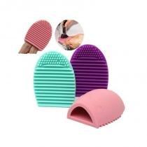 Esponja de Silicone para Limpeza de Pinceis de Maquiagem Brushegg - Bellas