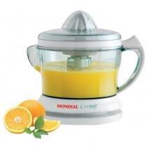 Espremedor de frutas mondial turbo citrus e-01 - branco - 220v -
