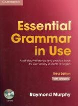 Essential grammar in use with answers and cd-rom - 3rd ed - Cambridge university