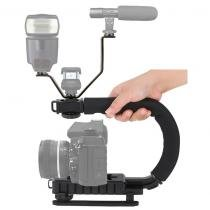 Estabilizador de Filmagem Steadycam DSLR e Video C Shape + Adaptador LS18 - Rollin