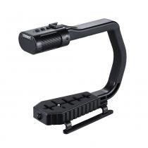 Estabilizador De Mão Com Microfone - Sevenoak - Micrig Sterio -