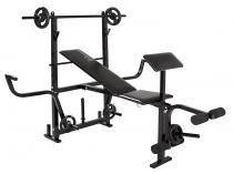 Estação/Aparelho de Musculação Polimet 0799 - 3 Exercícios 2 Anilhas 1kg 2 Anilhas 2kg