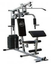 Estação De Musculação Com 80kg Aparelho Ginástica Academia - Wct fitness