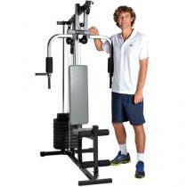 Estação de Musculação Guga Kuerten GK2000 - com 25 Tipos de Exercícios e Suporta 100Kg