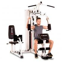 Estação de musculação kikos gx4 - com leg press - Kikos