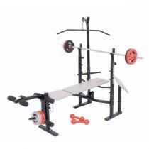 Estação Musculação Banco Supino Sp-3300 Pro Polimet - Poli sports