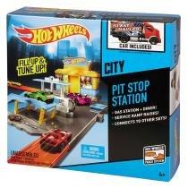 Estação Pit Stop Hot Wheels  Mattel Desafios na Cidade BGH96 - Mattel