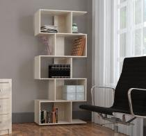 Estante Livreiro com 5 Nichos Office Plus Appunto - Grigio -