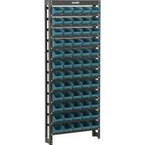 Estante metálica com 60 gavetas n3 - Vonder
