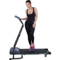 Esteira Eletrônica Dream Fitness DR 1100 Plus - 4 Funções Tecla Scan Dobrável