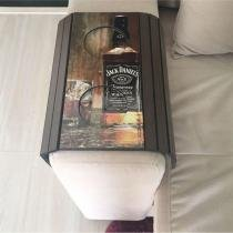 Esteira Para Sofá Bandeja Flexível - Jack Daniels - MA Sorprezo