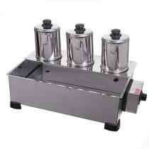 Esterilizador, 3 Bules com Termostato, 1,7 litros cada, 750W - 127V - Marchesoni