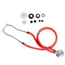 Estetoscópio Rappaport Vermelho Premium - Accumed