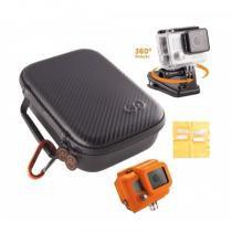 Estojo compacto para câmera GoPro + suporte + acessórios - H4-PAK - Gocase - Gocase