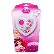 Estojo Coração Princesas Beauty Brinq - Beauty Brinq