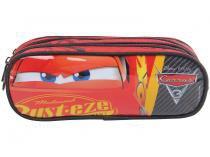 Estojo Escolar Carros Disney Pixar Soft Triplo Relâmpago McQueen Dermiwil
