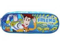 Estojo Escolar Duplo Azul com Zíper Max - Disney Pixar Toy Story Dermiwil