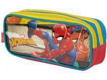 Estojo Escolar Duplo com Zíper 19M  - Marvel Spider-Man Sestini