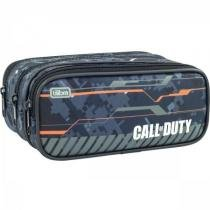 Estojo triplo grande call of duty - Tilibra