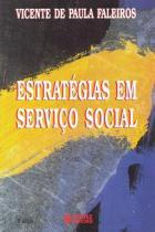 Estrategias em servico social - 9788524906671 - Cortez editora