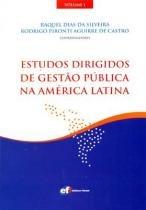 Estudos Dirigidos de Gestão Pública na América Latina - Editora forum