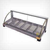 Estufa para salgados 6 bandejas em linha - EF.2.061 (110V) - Marchesoni