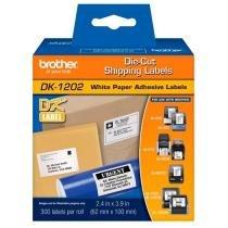 Etiqueta Brother DK-1202 - Endereço (300 etiquetas de 62mm x 100mm) -