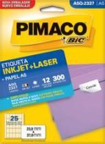 Etiqueta Inkjet/Laser A5 Q2337 23x37 300 Unidades Pimaco - 953010