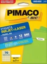 Etiqueta Inkjet/Laser A5 Q932 09x32 840 Unidades Pimaco - 1