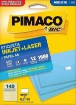 Etiqueta Inkjet/Laser A5Q-916 Pimaco -