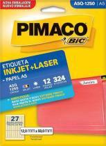 Etiqueta Inkjet/Laser A5R-1250 Pimaco -
