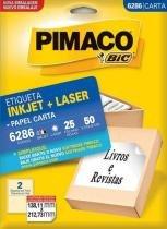 Etiqueta Inkjet/Laser Carta 6286 Pimaco -