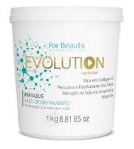 Evolution Day By Day For Beauty Máscara Anti Desbotamento 1Kg -