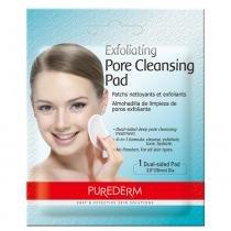 Exfoliating Pore Cleansig Pad Purederm - Lenço Exfoliante para Limpeza Profunda - 1 unidade - Purederm