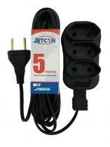 Extensão 05m paralela 3 saída 2x0,75 jetcon - Jetcon