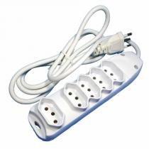 Extensão Elétrica de 1,5m com 5 Tomadas - DNI 7215 - KEY WEST