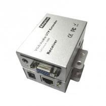 Extensor VGA Via Cabo de Rede até 100 Metros Com Áudio - Wincabos