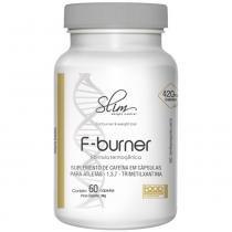F-Burner 60caps (Cafeina 420mg Por Caps) - Slim -