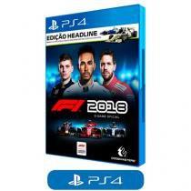 F1 2018 Edição Headline para PS4 - Codemasters